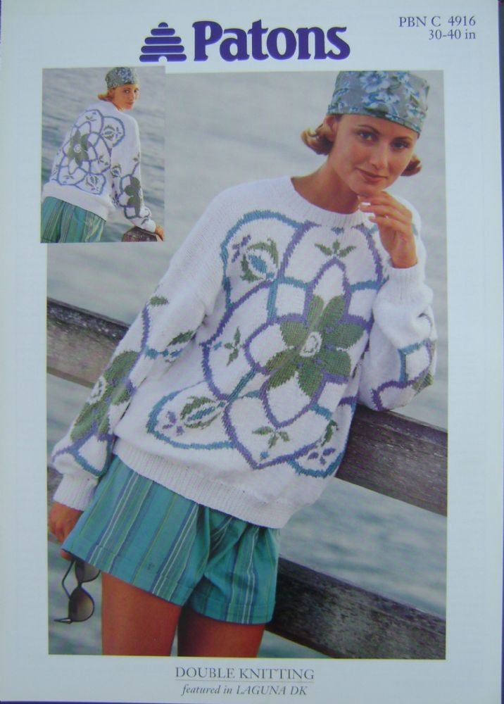 Patons Knitting Pattern 4916